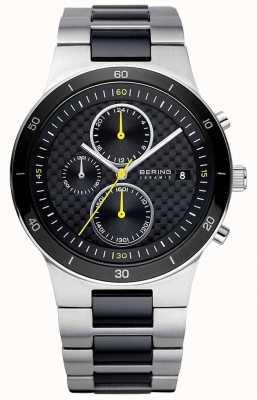Bering | Men's | Ceramic Steel Bracelet | Chronograph Watch | 33341-749