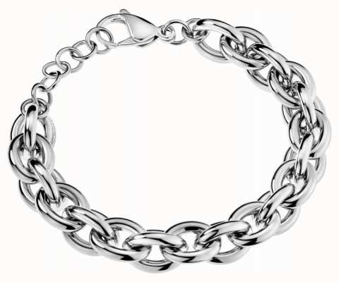 Calvin Klein Women's Stainless Steel Chunky Chain Bracelet KJALMB000100