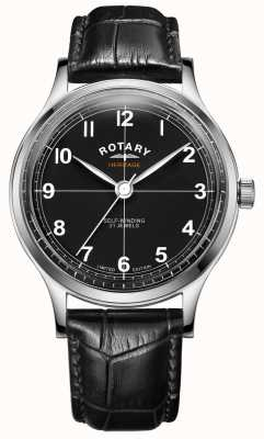 Rotary Men's Limited Edition Heritage | Black Leather Strap | GS05125/04