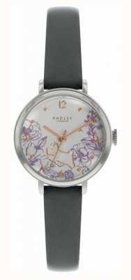 Radley | Women's Black Leather Strap | Floral Print Dial | RY2979
