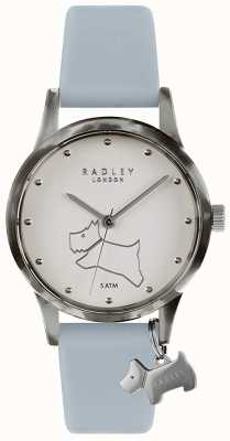 Radley | Women's Baby Blue Silicone Strap | White Dial | RY2847