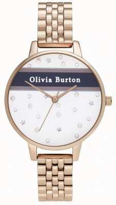 Olivia Burton Women's | Demi | Varsity | Rose Gold PVD OB16VS06