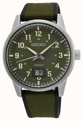 Seiko Conceptual Gents Quartz Khaki Green SUR323P1