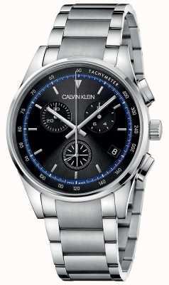 Calvin Klein | Completion | Stainless Steel Bracelet | Black Dial | KAM27141
