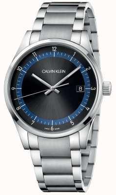 Calvin Klein | Completion | Stainless Steel Bracelet | Black/Blue Dial | KAM21141