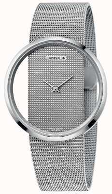 Calvin Klein | Glam | Silver Steel Mesh Bracelet | Silver Dial | K9423T27