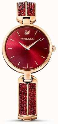 Swarovski Dream Rock Red/Rose Gold | Red Face | 5519312