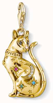 Thomas Sabo | Charm Pendant Cat Constellation | Gold 1838-471-7