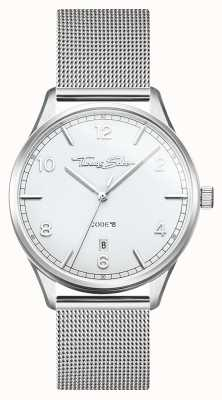 Thomas Sabo | Glam And Soul | Women's Steel Mesh Bracelet | Silver Dial WA0360-201-202-36