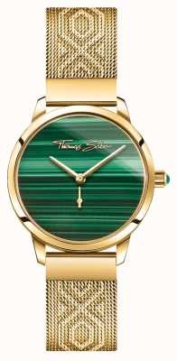 Thomas Sabo | Glam And Soul | Women's Garden Spirit | Malachite Gold WA0365-264-211-33