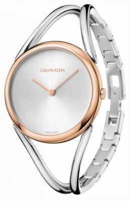 Calvin Klein Lady | Stainless Steel Bracelet | Silver Dial | KBA23626