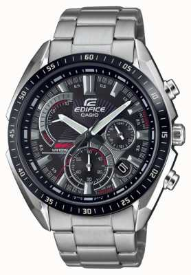 Casio | Edifice | Steel Bracelet | Stop Watch | Black Dial EFR-570DB-1AVUEF