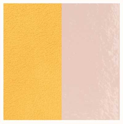 Les Georgettes 25mm Leather Insert | Light Pink/Lemon Yellow 702755199DT000