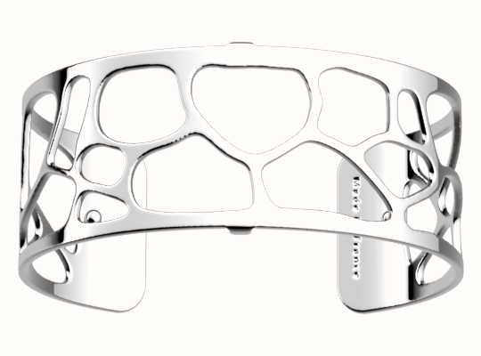 Les Georgettes 25mm Leopard Silver Finish Bangle 70346641600000