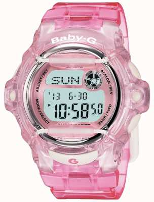 Casio Baby G Pink Strap Digital Display BG-169R-4ER