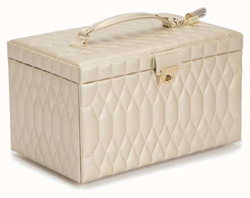 WOLF Caroline Champagne Large Jewellery Box 329646