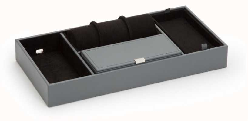 WOLF Howard Grey Valet Tray With Roll 465165