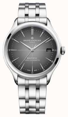 Baume & Mercier Clifton Baumatic | COSC Certified | Slate Grey Dial | M0A10551