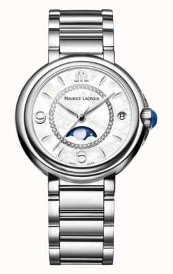 Maurice Lacroix Fiaba Quartz | White Dial | Silver Strap FA1084-SS002-170-1