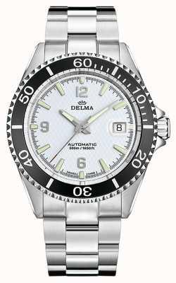 Delma Santiago Automatic | Stainless Steel Bracelet | White Dial 41701.560.6.014