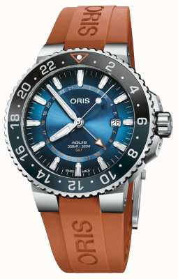 ORIS Limited Edition Carysfort Reef Rubber 01 798 7754 4185-SET RS