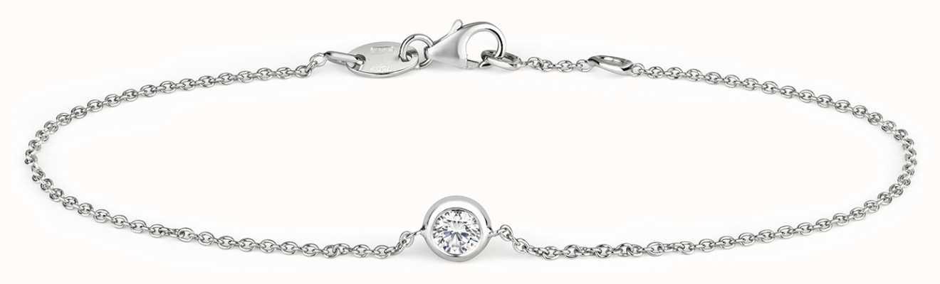 Treasure House 18k White Gold 0.20ct Diamond Bracelet BDQ030W