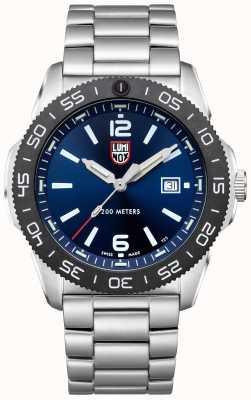 Luminox Men's Pacific Diver   Blue Dial   Stainless Steel Bracelet XS.3123