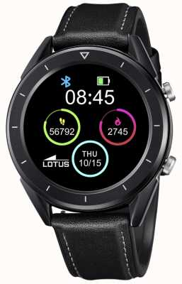 Lotus SmarTime | Men's | Black Leather Strap + Free Strap L50009/1