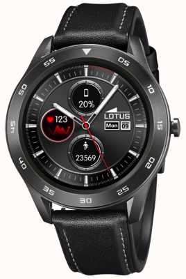 Lotus SmarTime | Men's | Black Leather Strap + Free Strap L50012/3