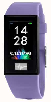Calypso Unisex | Smartime | Purple Silicone Strap + Free Strap K8500/2