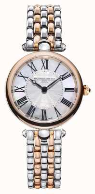 Frederique Constant Women's Art Déco | Two-Tone Steel Bracelet |Mother Of Pearl FC-200MPW2AR2B