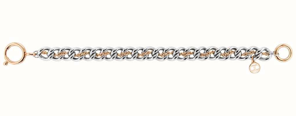 Tommy Hilfiger Women's Double Link Bracelet | Stainless Steel 2780469