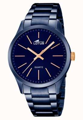 Lotus Grande Men's Stainless Steel Blue 18163/2