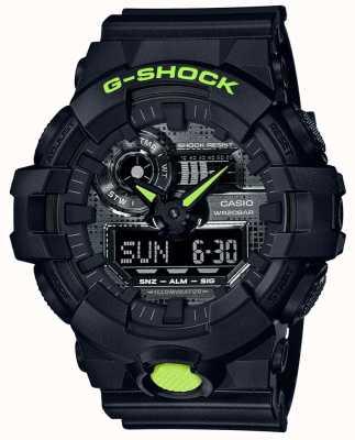 Casio G-SHOCK | Digital Camo | Black Resin GA-700DC-1AER