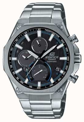 Casio EDIFICE | Bluetooth | Solar | World Time | Stainless Steel EQB-1100D-1AER