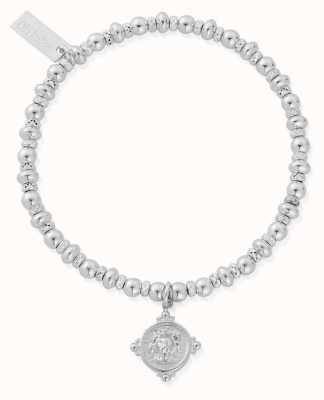 ChloBo Didi Sparkle Lion Head Bracelet | Sterling Silver SBDS889