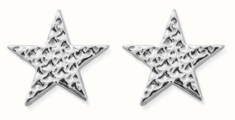 ChloBo Sparkle Star Stud Earrings | Sterling Silver SEST3077