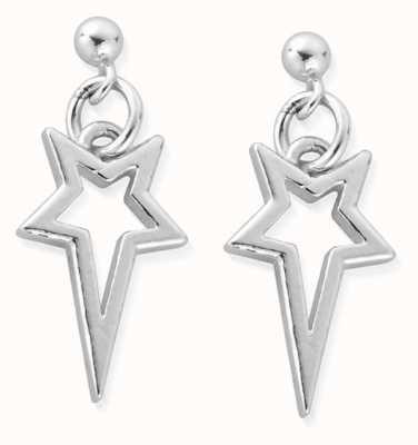 ChloBo North Star Drop Earrings | Sterling Silver SEST4003