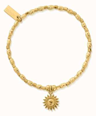 ChloBo Soul Glow Sunshine Bracelet | 18ct Gold Plated GBCFR3086