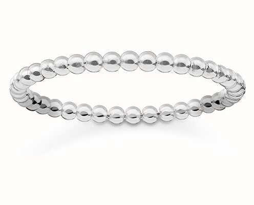 Thomas Sabo Glam And Soul | Sterling Silver Ring | EU 52 (UK L 1/2) TR2122-001-12-52