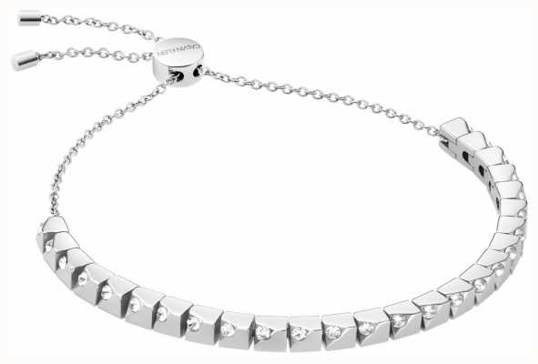 Calvin Klein Tune | Stainless Steel Cube Bracelet | Swarovski Crystal Set KJ9MMB040500