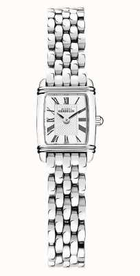 Michel Herbelin Art Déco  | Women's Stainless Steel Bracelet | White Dial 17438/08B