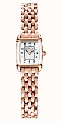 Michel Herbelin Art Déco | Women's Rose Gold Plated Bracelet | White Dial 17438/PR22B
