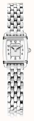 Michel Herbelin Art Déco | Women's Stainless Steel Bracelet | White Dial | 17438/22B