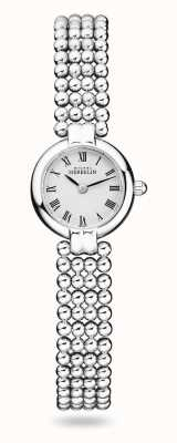Michel Herbelin Perles | Women's Stainless Steel Bracelet | White Dial 17433/B08