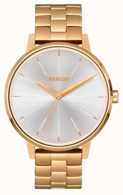 Nixon Kensington | Gold / White | Gold IP Bracelet | Silver Dial A099-508-00