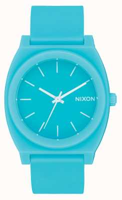 Nixon Time Teller P | Matte Mineral Jade | Jade Silicone Strap | Jade Dial A119-3011-00