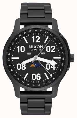 Nixon Ascender | Black / Lum | Black IP Steel Bracelet | Black Dial A1208-2474-00