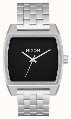 Nixon Time Tracker | Black | Stainless Steel Bracelet | Black Dial A1245-000-00