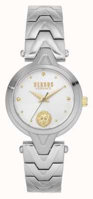 Versus Versace Women's V_Versus Forlanini | Stainless Steel Bracelet | Silver Dial VSPVN0620